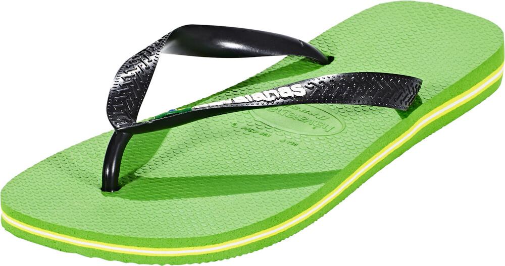 Sandale BRASIL LOGO Vert EXgpjgfi